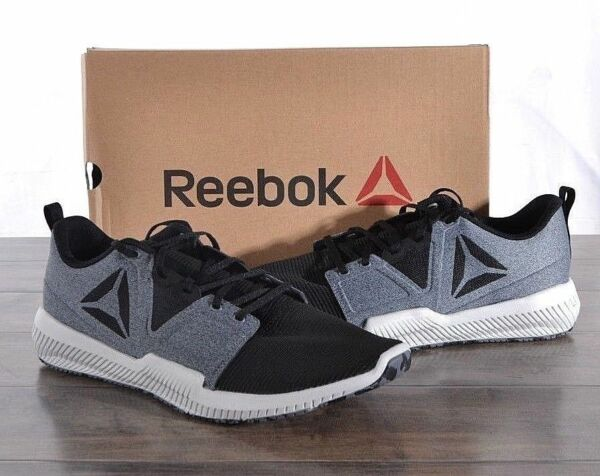 NEW Reebok Men's Hydrorush TR Athletic Shoes GREY& BLACK /H PICK SIZE