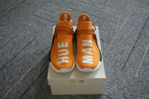 NEW Size 7 Authentic Adidas PW Human Race NMD Hue Man Tangerine [BB3070]