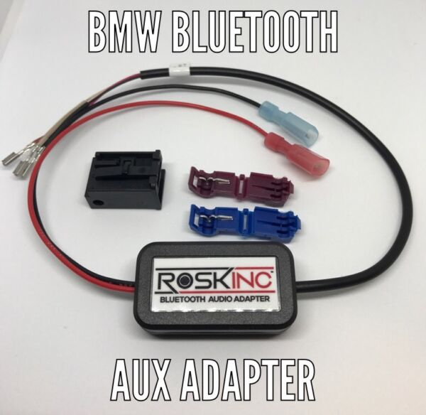 BMW Bluetooth Audio Streaming Adaptor Iphone 7 Ipod Android E60 E63 E65 E90