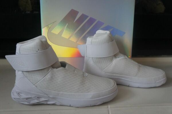 NEW in BOX NIKE SWOOSH HNTR HUNTER WHITE SNEAKERS High Tops 832820-101 SZ 10.5
