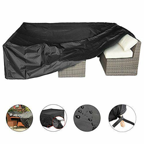 Patio Cover Essort Outdoor Furniture Lounge Porch Sofa Waterproof Dust Proof ... $63.99