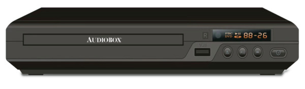 Audiobox 2.0 Region Free DVD Player with USB Support (MP3/CD/DVD/JPEG)
