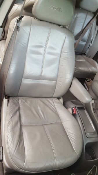 1999 FORD WINDSTAR RIGHT PASS FRONT ELECTRIC BUCKET SEAT LEATHER GRAY OEM 99 03 $255.00