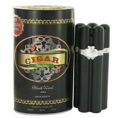 Cigar Black Wood by Remy Latour 3.3 3.4 oz EDT Cologne for Men New In Box