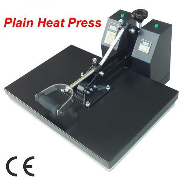 New Digital Clamshell Heat Press Transfer T-Shirt Machine 15