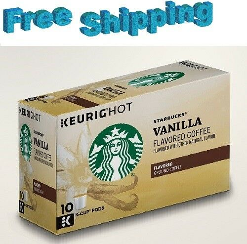 Starbucks Vanilla Flavored Coffee Keurig k-cups