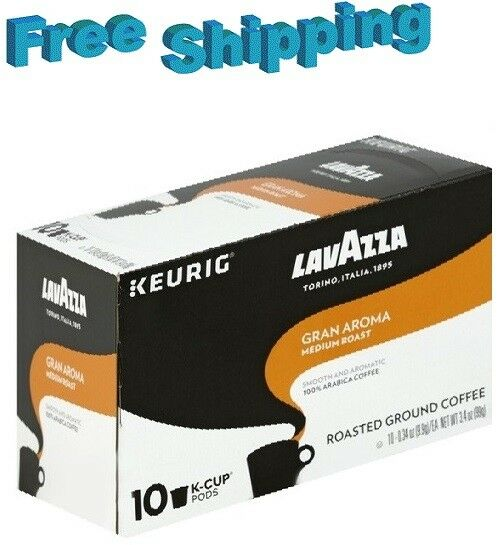Lavazza Gran Aroma Medium Roast Coffee Keurig k-cups