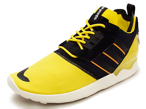 Adidas ZX 8000 Boost Men's Running Shoes Size 12 Yellow/Black B26369 New w/Box