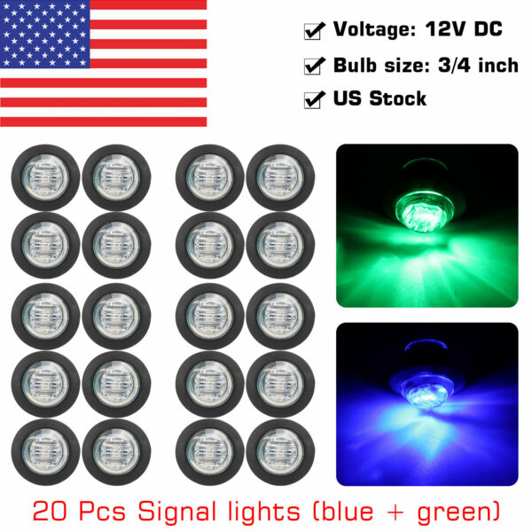 19mm 12V Car Aluminum LED Power Push Button Metal ONOFF Switch Latch Waterproof
