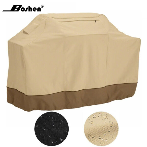 Waterproof Outdoor Barbecue BBQ Gas Grill Cover 600D Heavy Duty 58quot; 64quot; 70quot; 72quot;