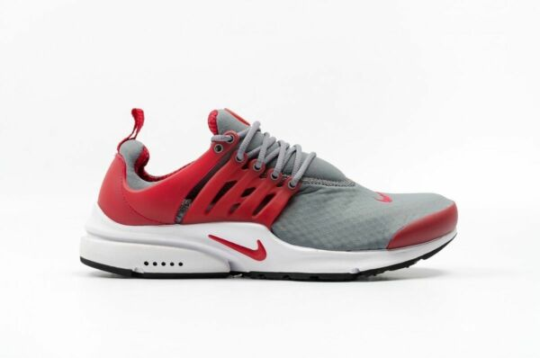 Nike Air Presto Essential Men's Size 13 Running Shoes Cool Grey Red 848187 008