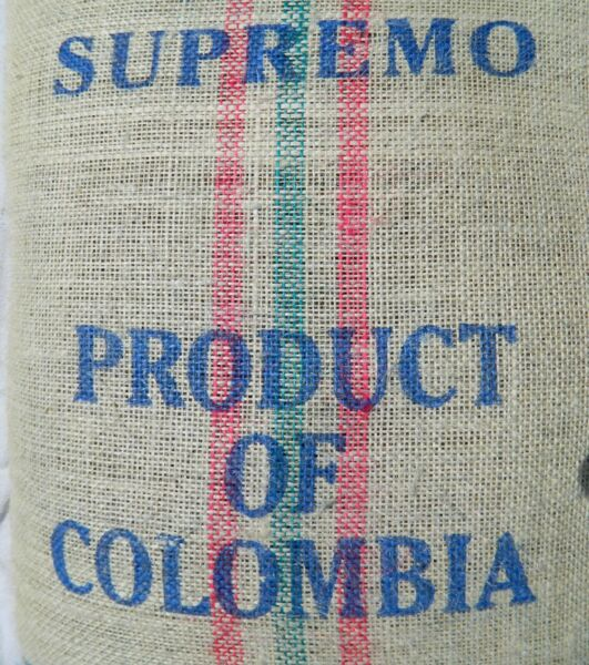 Colombia Unroasted Suprimo Green Coffee Beans