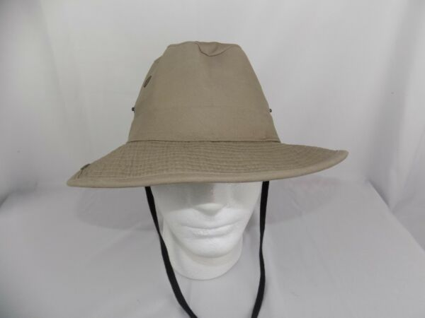 Outdoor Unisex Sun Block G Beige Off White Fishing Small Cap Climbing Bucket Hat