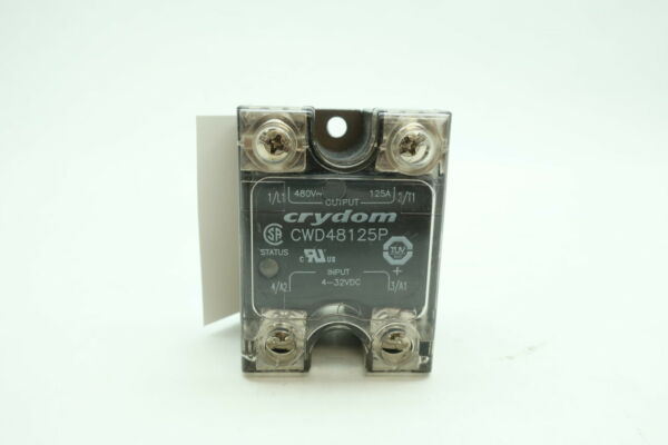 Crydom CWD48125P 125a Amp 480v-ac Panel Mount Solid State Relay