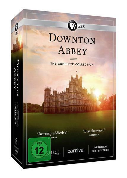 Downton Abbey - Die komplette Serie (23 DVDs + 3 Bonus-DVDs)