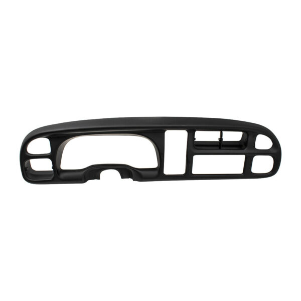 98-02 Dodge Ram Pickup Black Dash Instrument Cluster Bezel & Clips 5GK51DX9AA