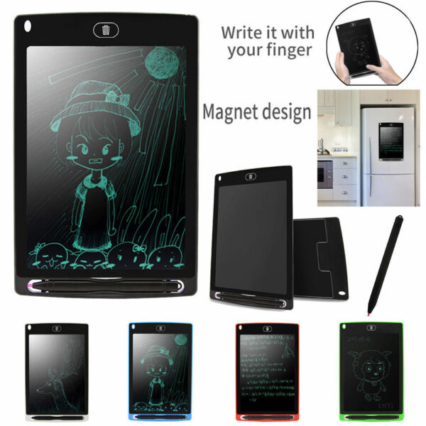 New Kids Children LCD E-Writing Tablet Pad Educational Learning Toy Gift