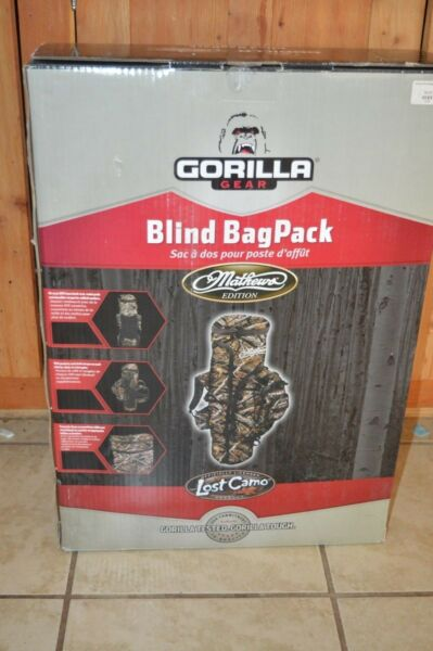 NEW GORILLA GEAR MATHEWS EDITION LOST CAMO BLIND BAG PACK BAGPACK 65657 EASTMAN