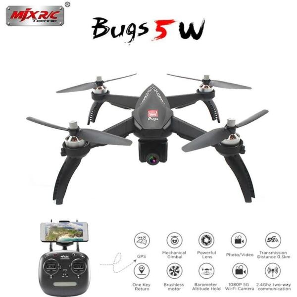 New 5G Wifi 1080p HD Camera Drone App RC Altitude Hold Mode Brushless Quadcopter