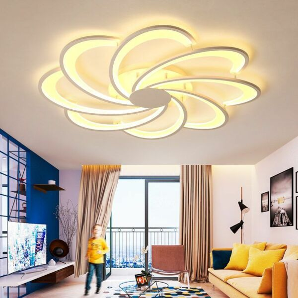 Chandeliers Modern LED Hardware Acrylic Lamps For Living Room Dining Room Decors