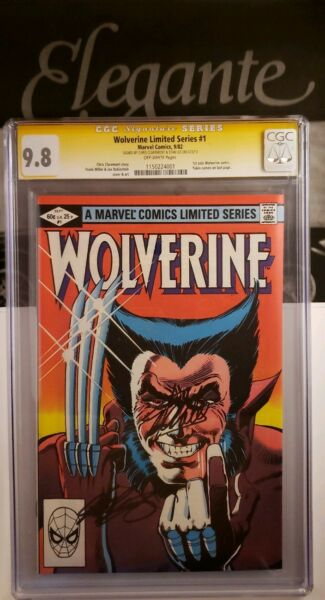 Wolverine Limited #1 CGC SS 9.8 signed 2x Stan Lee and Claremont Frank Miller