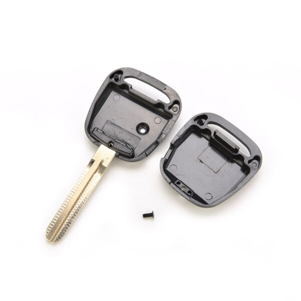 For TOYOTA Remote Key Shell for 1 Side Button Key Case Blade 45mm Length TOY *