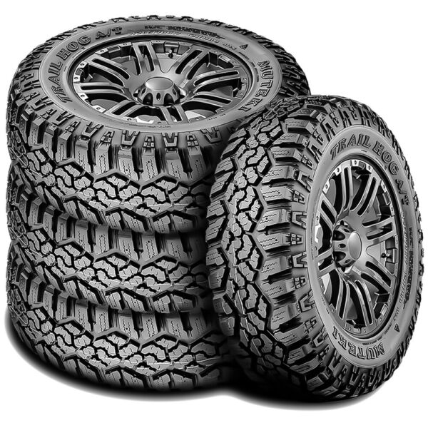 4 New Muteki (Kanati) Trail Hog A/T LT265/70R17 Load E 10 Ply All Terrain Tires