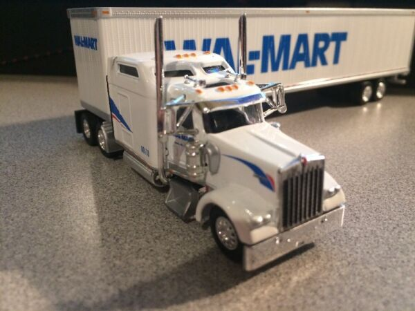 Tonkin Replicas Wal Mart Tractor amp; 53' Dry Trailer Kenworth 1 87