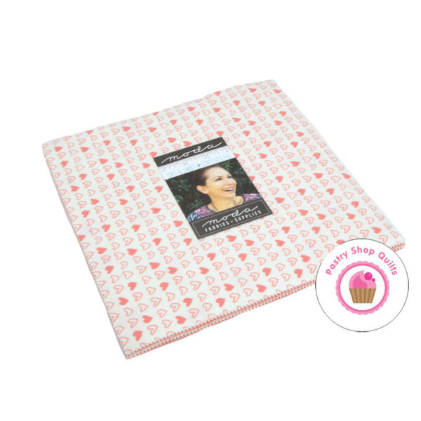 Moda SOFT SWEET FLANNELS PINK Stacy Hsu LAYER CAKE 20 10quot; Squares Quilting BABY