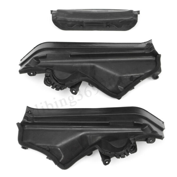 3x Engine Upper Compartment Partition Panel for BMW X5 E70 2006-2013 51717169419