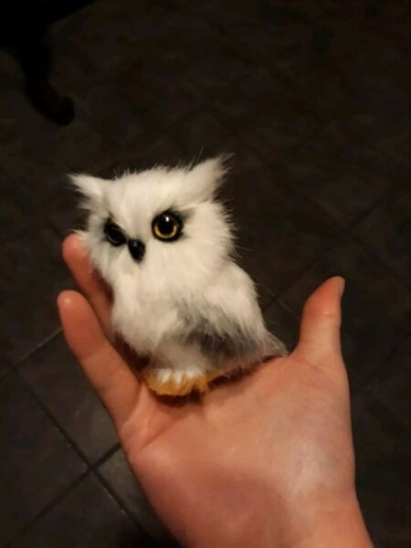 Harry Potter Hedwig Owl Figurine Toy Gift New