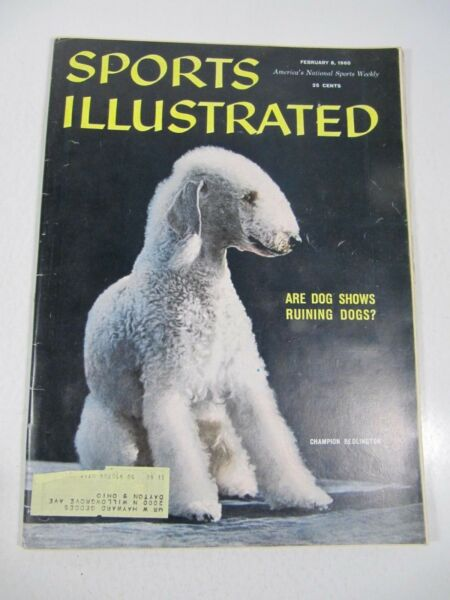 Sports Illustrated Magazine February 8 1960 Are Dog Shows Ruining Dogs? $13.95