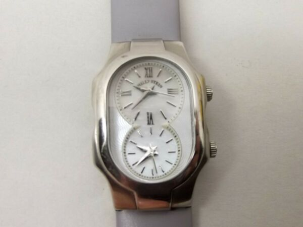 Philip Stein Signature Dual Time Natural Frequency Technology Wrist Watch