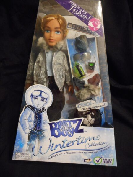 Bratz New NRFB Cameron Wintertime Collection MGA Entertainment Cool Accessories $34.00