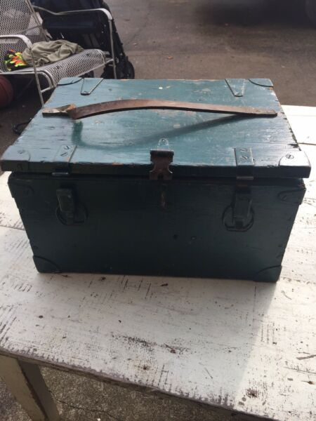 Antique Signal Corps Wooden Box