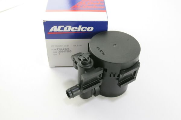 New OEM ACDelco 214-2324 GM 20941985 Vapor Canister Vent Solenoid Evap Emission