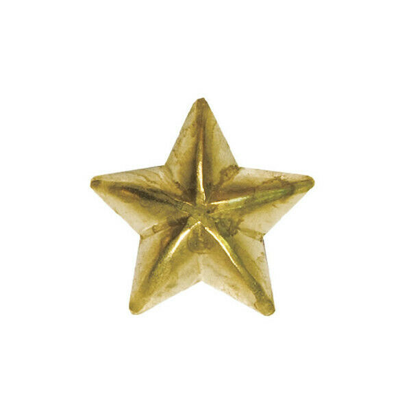 50 QTY: Specialty Upholstery Nails Small Star 12