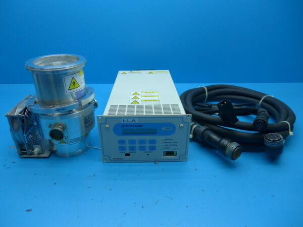 SHIMADZU TMP-203M-G1 EI-D203M Pump Controller motor and power cables