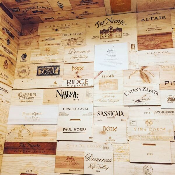 10 Assorted & Branded Wine Crate Panels  (Wine Box) SidesEndsTops Wood