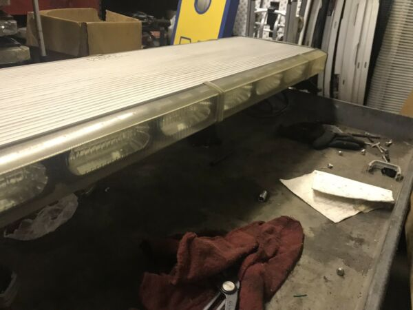 "Whelen Liberty LED Lightbar BBBB 49"" LED TAKEDOWN AND ALLEY LIGHTS AMBER TRAFFIC"