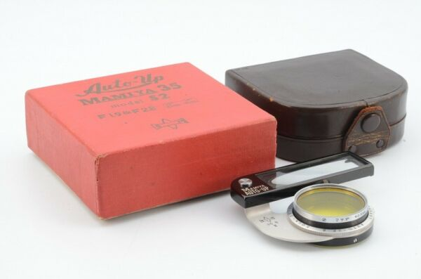 Pleasant Auto-UP Lens  for MAMIYA Very Good Condition #92298 #671