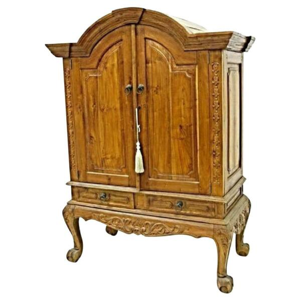 Southeast Asian Cabinet Armoire Wardrobe Chest Buffet Chinese Antique Vintage