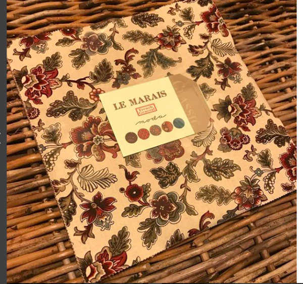 Moda FABRIC Layer Cake Le Marais French General