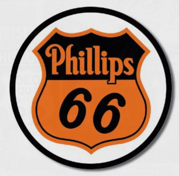"Phillips 66 Metal tin sign 12"" Round oil gas home garage Shop Wall Decor #794 $14.95"