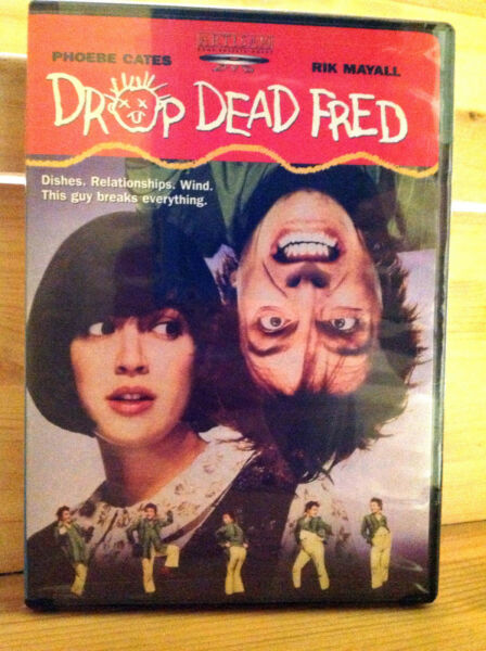 Drop Dead Fred (DVD 2003) R1 NTSC  RARE  FACTORY SEALED