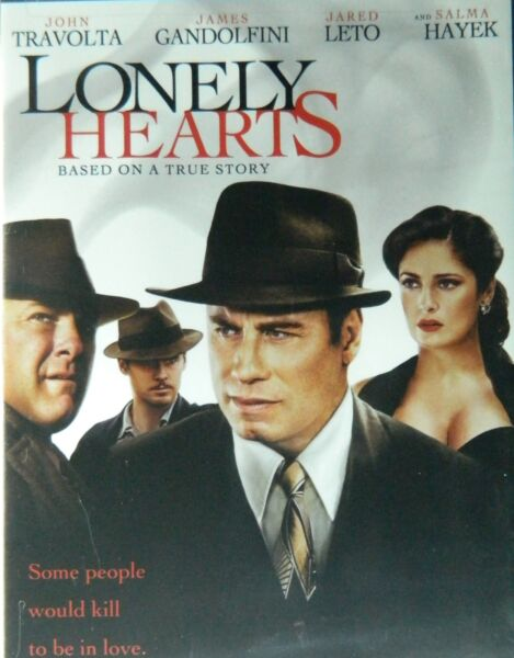 LONELY HEARTS (2006)John Travolta James Gandolfini Jared Leto Salma Hayek SEALED