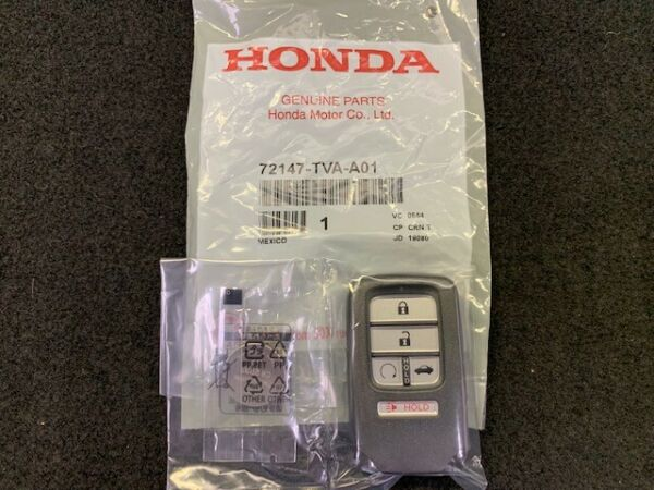 GENUINE HONDA 2018 to 2020 ACCORD SPORT LX REMOTE START HACK 72147 TVA A01