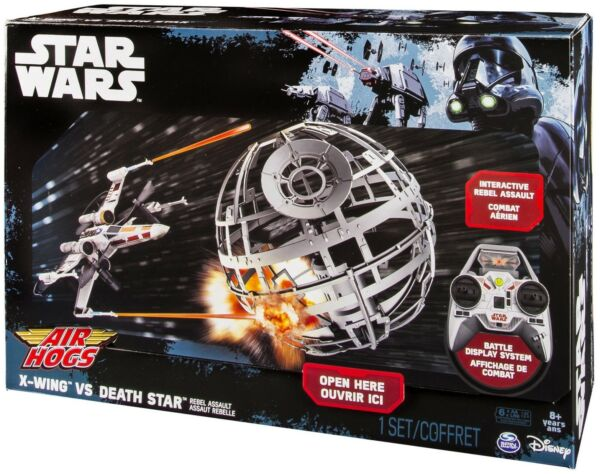 Air Hogs X-Wing Fighter vs Death Star RC~NEW~Remote Control~Toy~2.4GHz~Wireless