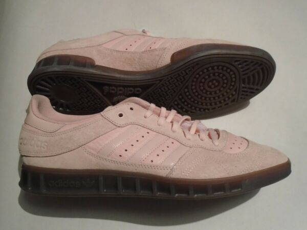 New Adidas Handball Top Men's Size 13 Lt Pink Leather Shoes B38030 Retro Vintage