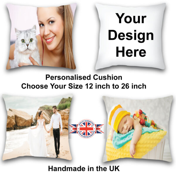 Personalized Custom Cushion Cover Design Your Own Cushion Photo Cushion Cover GBP 12.99